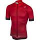 Castelli Flusso Koszulka kolarska, krótki rękaw Mężczyźni czerwony